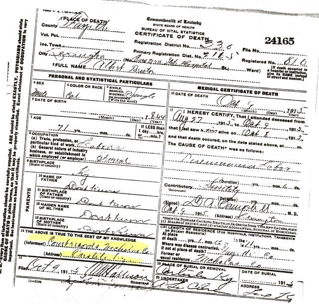 Lincoln County Divorce Records: African American Vital Records